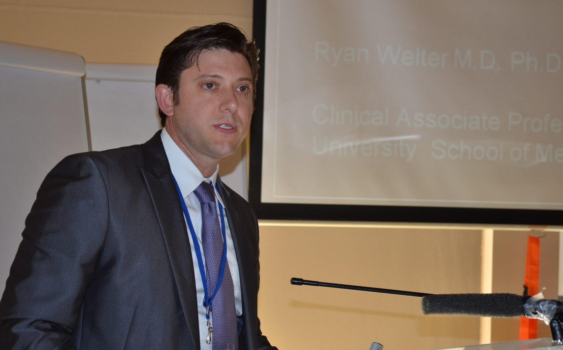 'Stem cells for hair restoration' presentation at DHI Athens