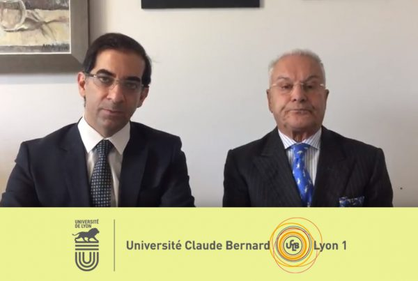 University of Lyon Professors congratulate Konstantinos Giotis for his contribution in Hair Restoration Training