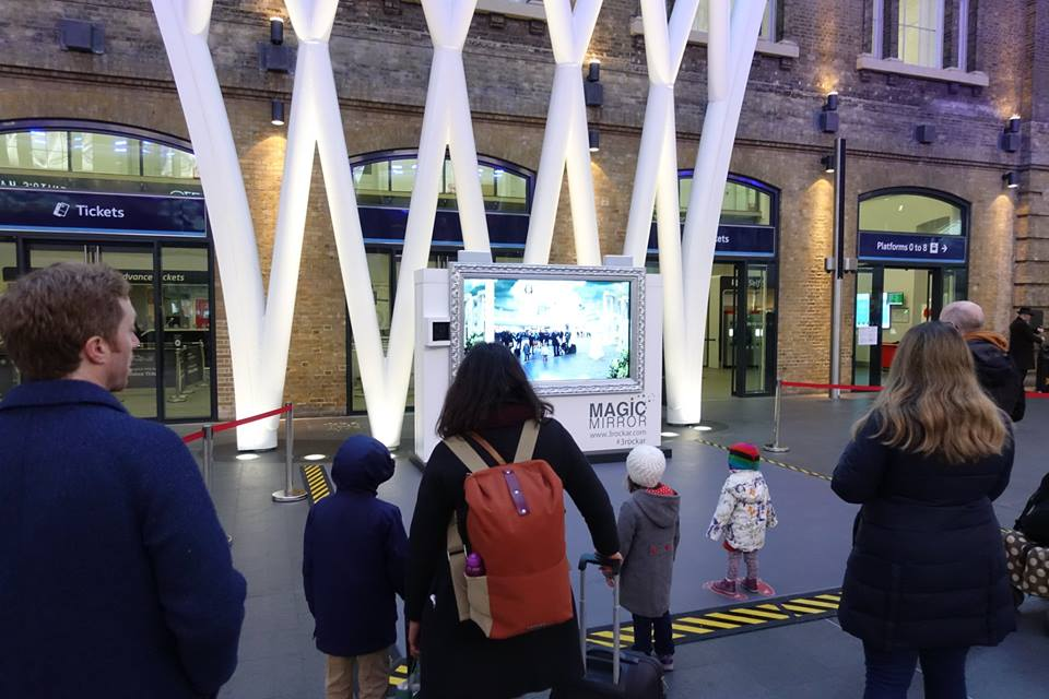 DHI in London King's Cross Station