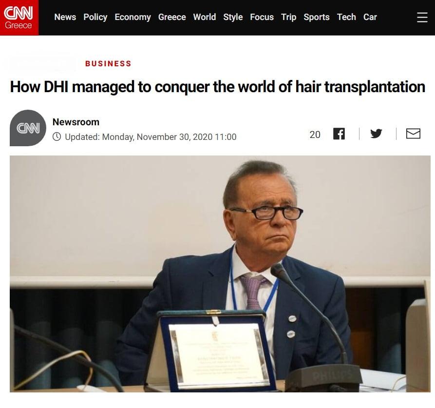 DHI on CNN