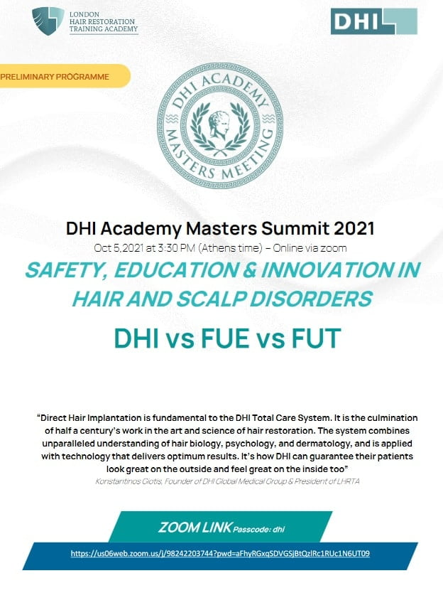 DHI Academy Masters Meeting 2021